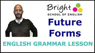 Future Forms - English Grammar Lesson - Bright School