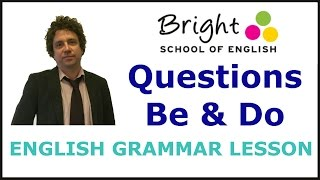 Yes and No Questions with Be and Do - English Grammar Lesson - Bright School
